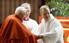 Brother Alois and Pope